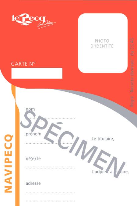 Carte Navipecq specimen