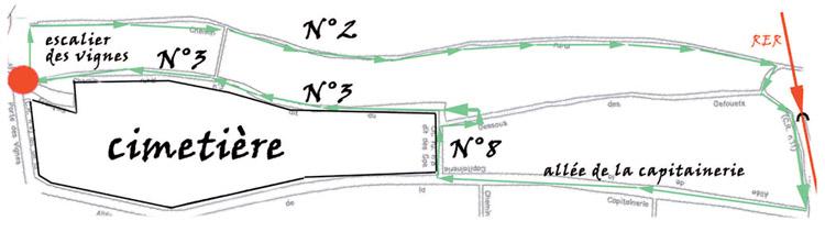 Plan du Sentier nature