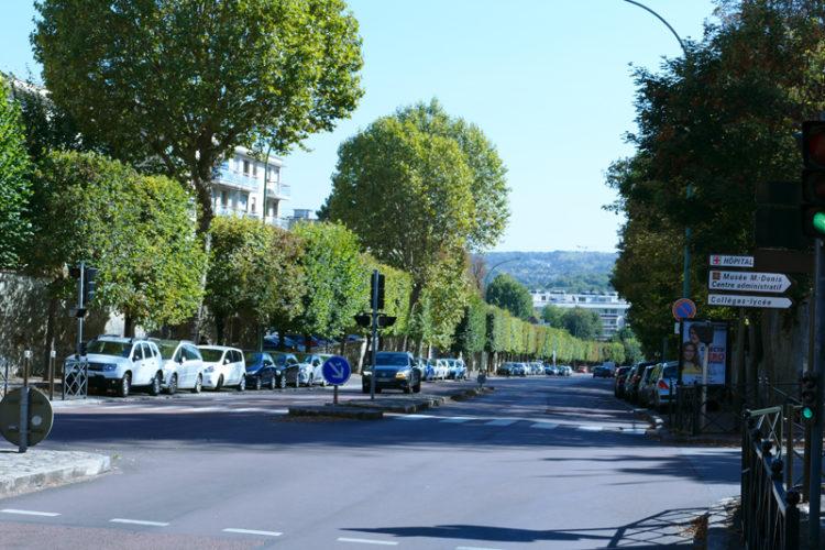 L'avenue du Général Leclerc en travaux