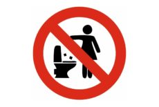 Ne jetez pas vos lingettes dans les toilettes !