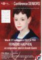 Conférence seniors «Fernand Halphen»