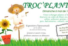 Participez au Troc'plantes du 6 mai 2018 !