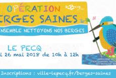 Opération «Berges Saines» 2018
