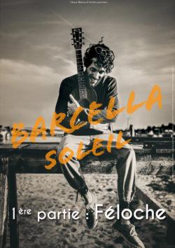 Barcella - 1ère partie : Féloche - Dimanche 30 septembre à 17h au Quai 3