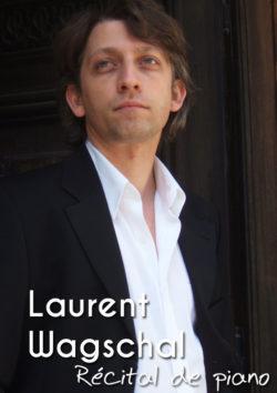 Laurent Wagschal - Récital de piano - Dimanche 14 octobre à 17h au Conservatoire Jehan Alain