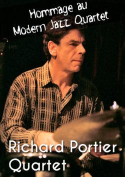 Richard Portier Quartet - Hommage au Modern Jazz Quartet - Dimanche 13 janvier à 17h au Conservatoire Jehan Alain
