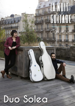 Duo Solea - Nuit de la Guitare (classique) - Samedi 13 avril à 18h30 au Quai 3