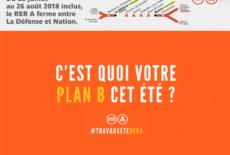 Travaux d'été RER A : anticipez vos trajets !