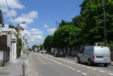 Seconde phase des travaux route de Sartrouville