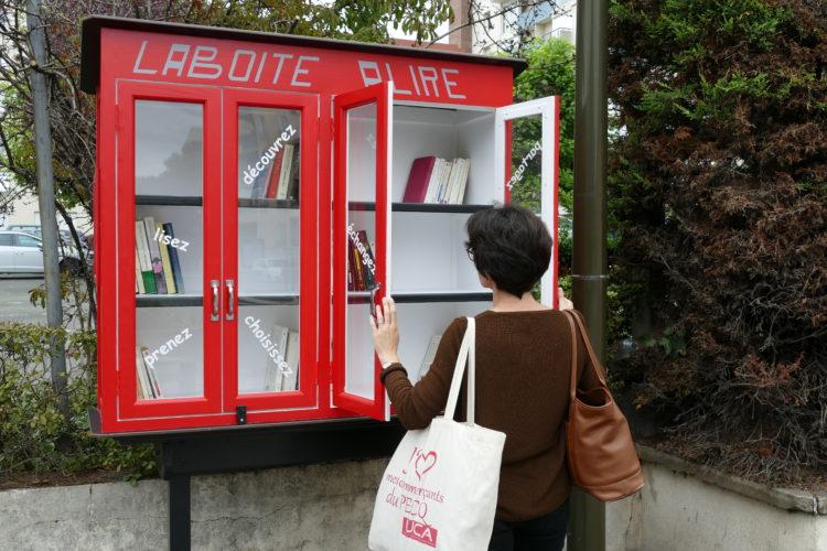 Une Boîte à Lire dans le quartier Saint-Wandrille !