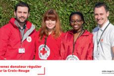 Campagne de porte à porte de la Croix-Rouge