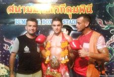 Un champion du monde de boxe thaï au Pecq !