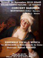 Concert baroque d'O'Musica