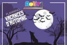 Programme des vacances d'automne d'Activ'Jeunes