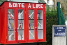 Le quartier Ermitage / Charles de Gaulle a sa boîte à lire!