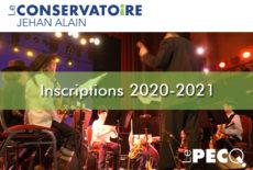 Ouverture des inscriptions au conservatoire pour la saison 2020-2021
