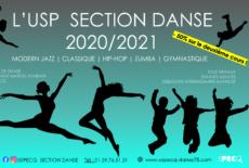 Ouverture des inscriptions à l'US Pecq danse saison 2020-2021