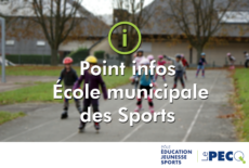 Suspension de l'École municipale des Sports