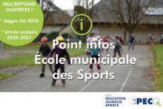 Ouverture des inscriptions à l'École municipale des Sports