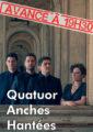 Concert du Quatuor Anches Hantées