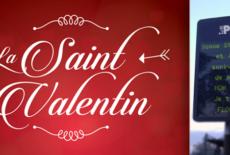 Saint-Valentin 2021 : (re)déclarez votre flamme sur les panneaux lumineux !