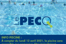 Ouverture de la piscine municipale sous conditions