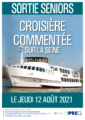 Sortie Seniors : croisière sur la Seine