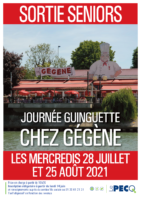 Sortie seniors «Journée guinguette «Chez Gégène»»