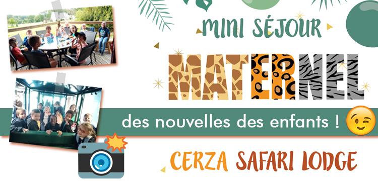 Mini séjour à Cerza :  des nouvelles des enfants !